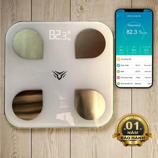Cân Điện Tử Kết Nối Bluetooth – App Tiếng Việt Đo Chỉ Số Sức Khỏe ( Hàng Chính Hãng )