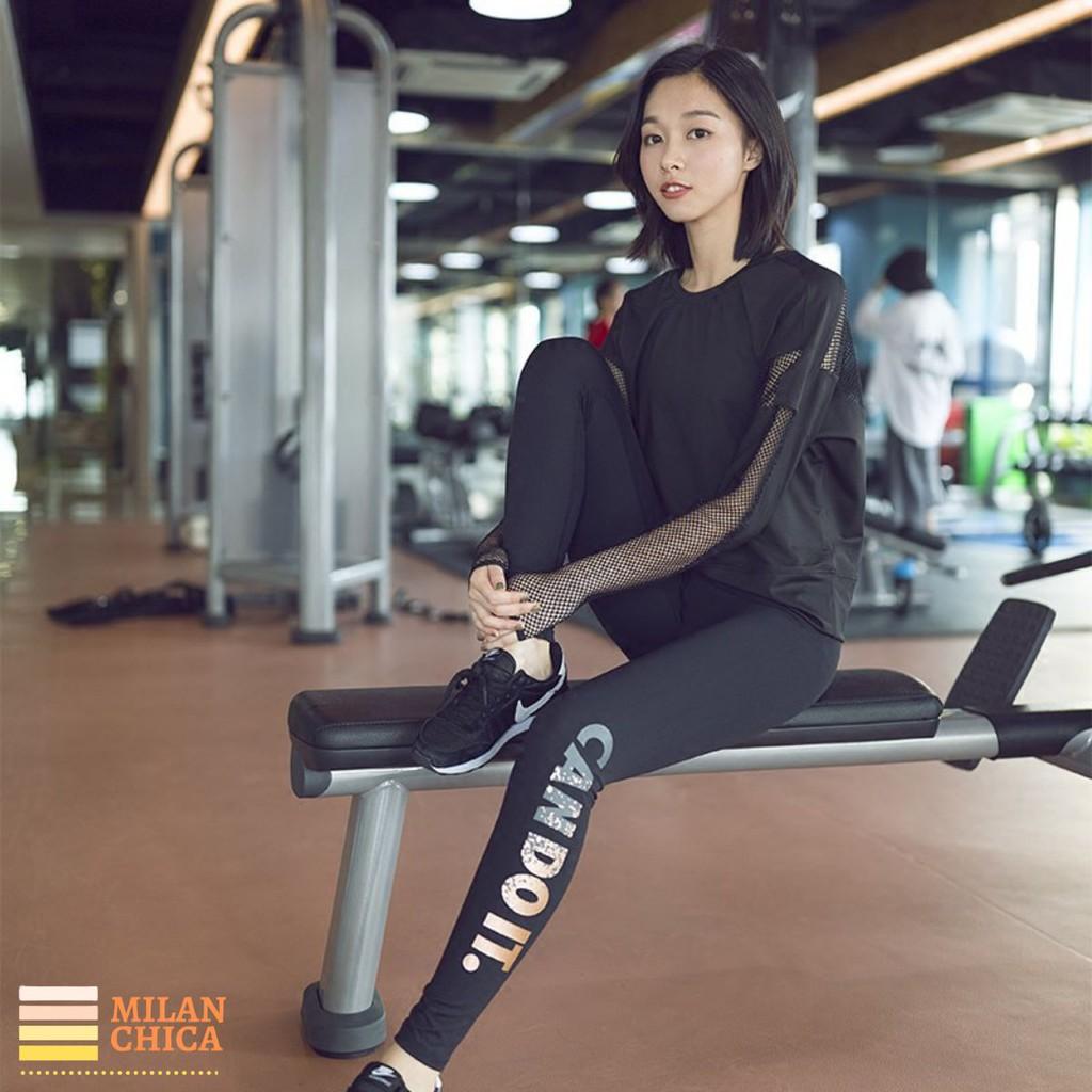 Quần Dài Jogger Có Túi Thể Thao Nữ Cando (Đồ Tập Gym) (Không Áo) - Cửa Hàng Việt Nam - Livan Sport