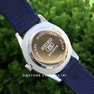 Đồng hồ nam quân đội SEIK-5 sports, dây dù siêu bền, chống nước cực tốt ở độ sâu 100m, bảo hành 12 tháng