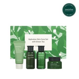 """Bộ sản phẩm chăm sóc dưỡng ẩm da innisfree Hydration Skin Care Set with Green Tea giá chỉ còn <strong class=""""price"""">35.900.000.000đ</strong>"""