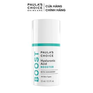 [Mã FMCG100K - 10% đơn 500K] Tinh chất cấp nước làm căng bóng da Paula's Choice Hyaluronic Acid Booster 15ml 7860