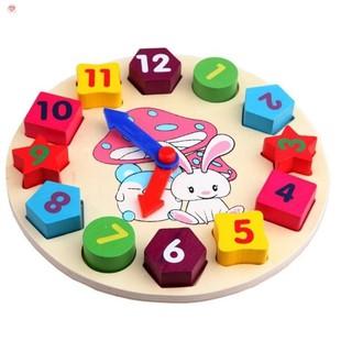 Bộ đồng hồ số cho trẻ 2 -5 tuổi, đồ chơi giáo dụcGiá Tốt Cho Mọi Nhà