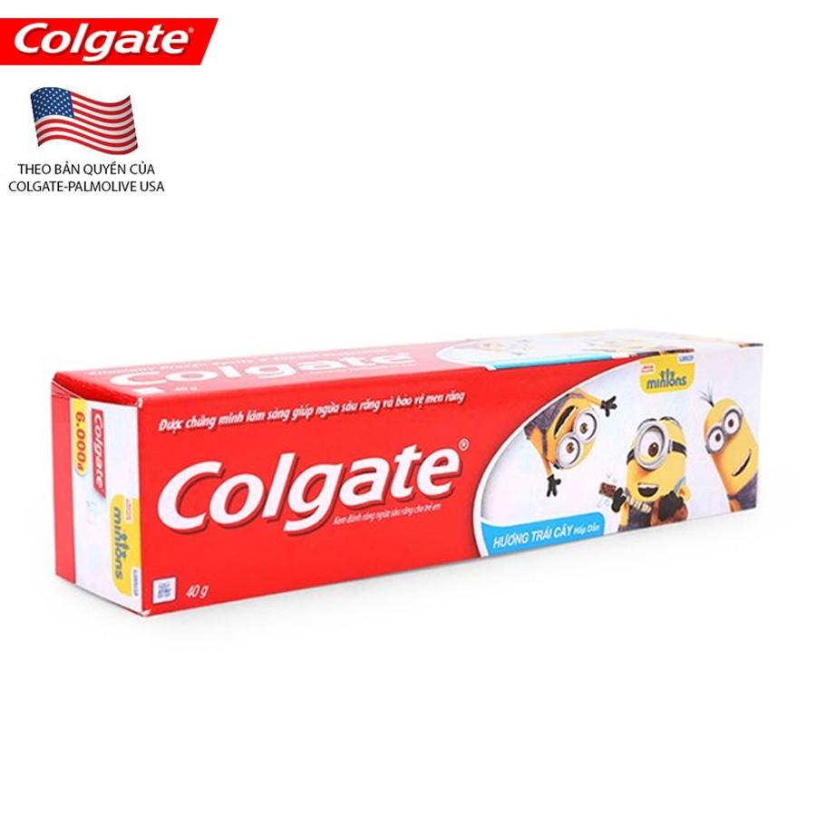 Kem đánh răng trẻ em Minion 40g - 8935102106027