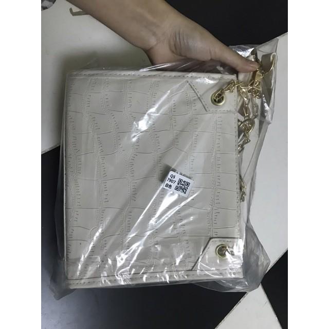 [Sẵn] Túi đeo vai thời trang da sần (CÓ ẢNH THẬT)