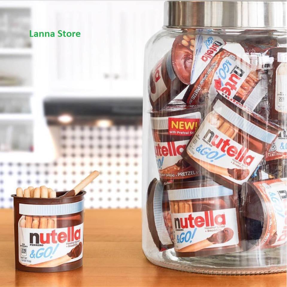 Bánh que chấm Nutella & Go - hàng xách tay Mỹ ??