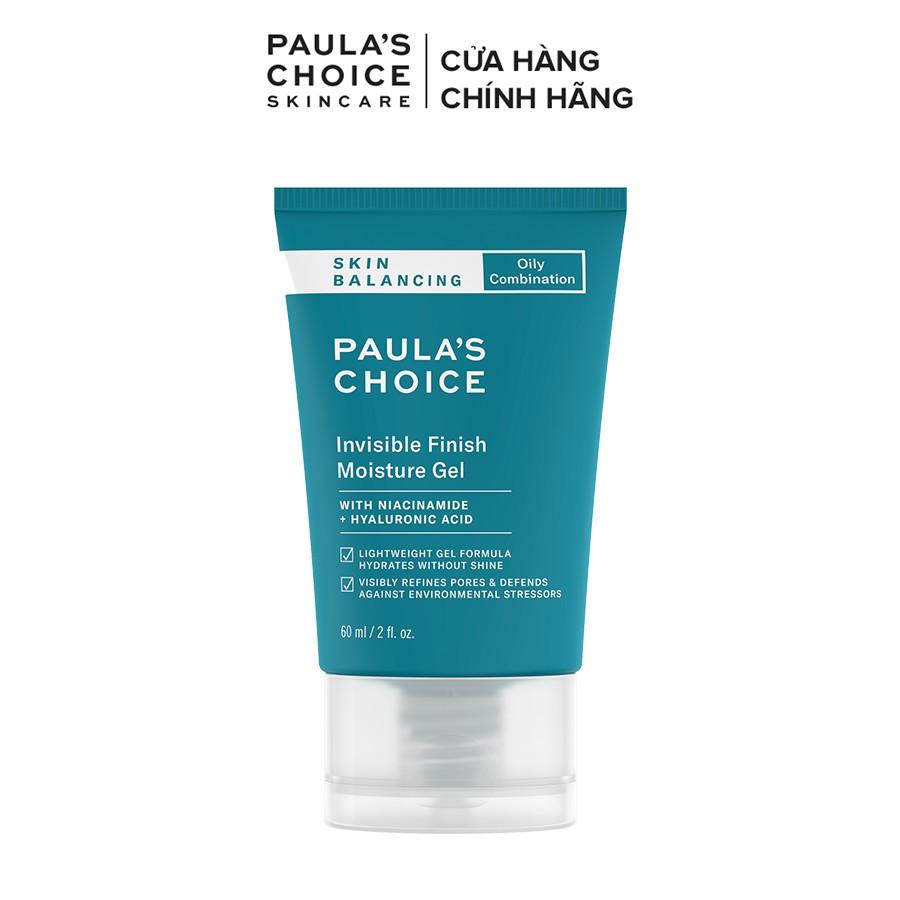 Kem dưỡng ẩm kiểm soát dầu cho da thoáng mịn Paula's Choice Skin Balancing Invisible Finish Moisture Gel 60ml 3400