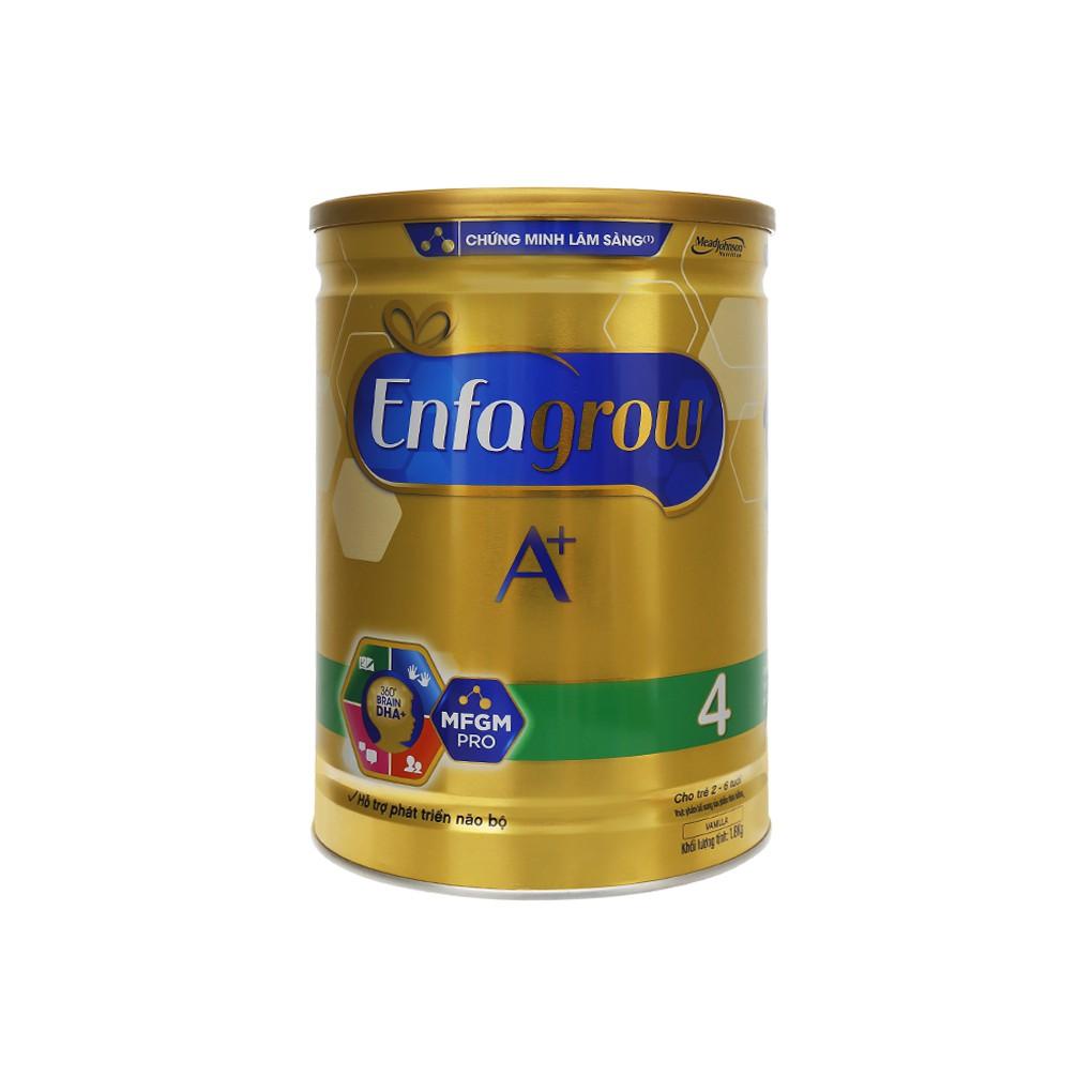 Sữa Bột EnfaGrow A+ 4 (2-6 tuổi) 1.8kg.