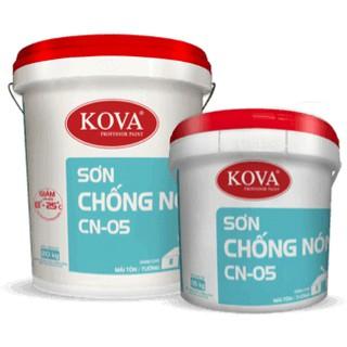 Sơn CN-05 Kova Chống nóng mái tôn giảm nóng từ 8-25 độ 5kg