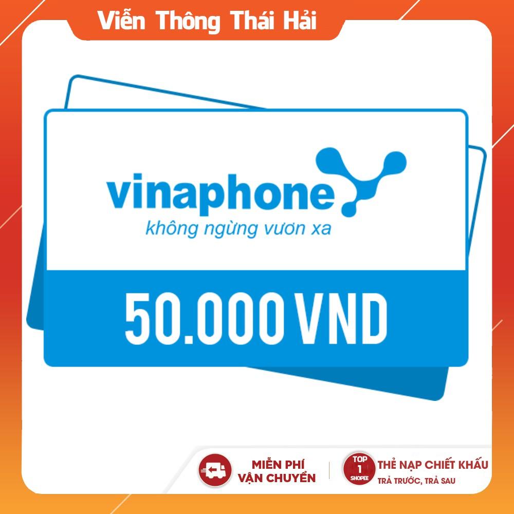 Mã Thẻ Vinaphone 50K - Nạp Trả Trước - Trả Sau