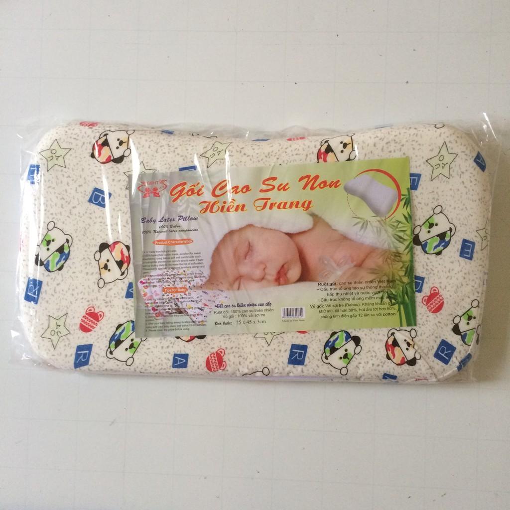 Gối cao su non hiền trang cho bé (loại to)