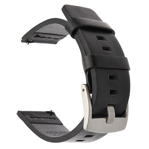 Dây Đeo Bằng Da Thật 22mm Cho Đồng Hồ Thông Minh Samsung Galaxy Watch 3 45mm 22mm