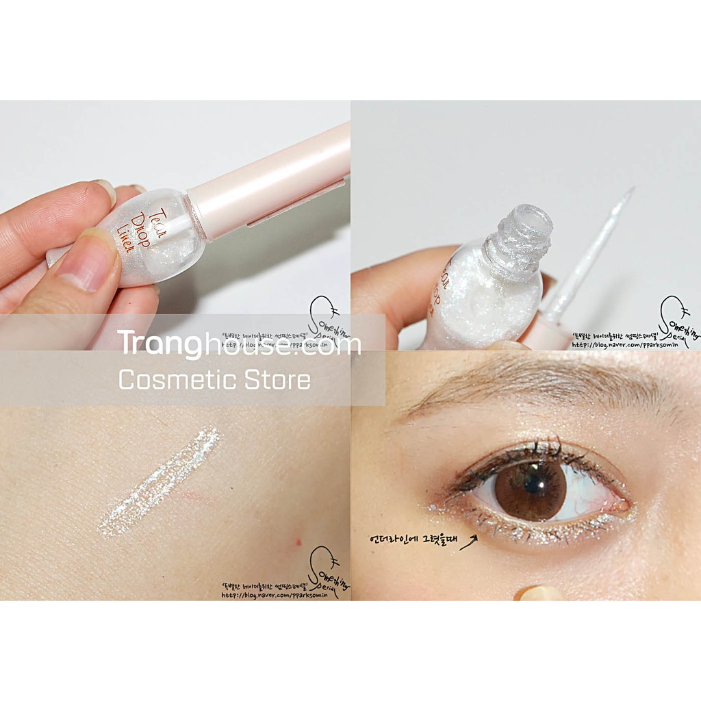 Kẻ Viền Mắt Nhũ Etude House Tear Drop Liner - 2451385 , 15372454 , 322_15372454 , 125000 , Ke-Vien-Mat-Nhu-Etude-House-Tear-Drop-Liner-322_15372454 , shopee.vn , Kẻ Viền Mắt Nhũ Etude House Tear Drop Liner