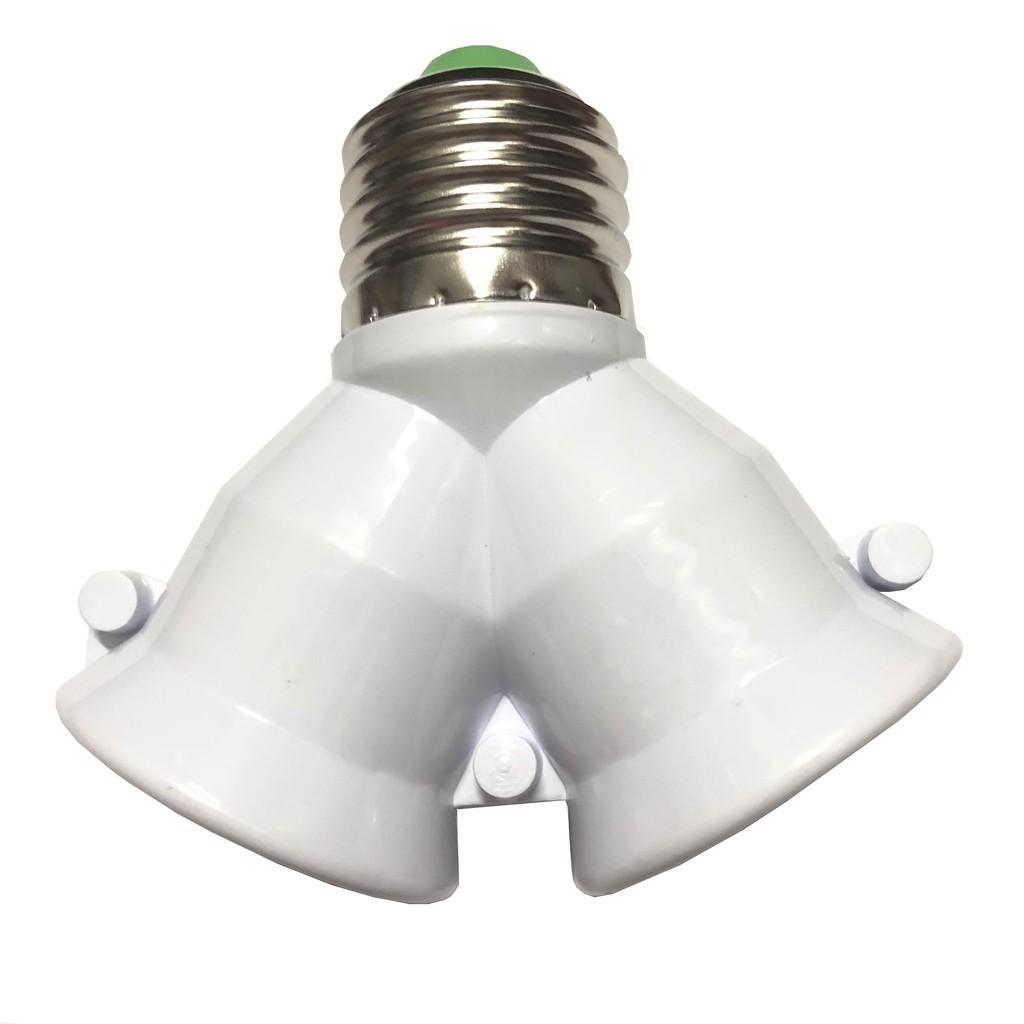 Đui đèn chia 2 bóng tiện dụng