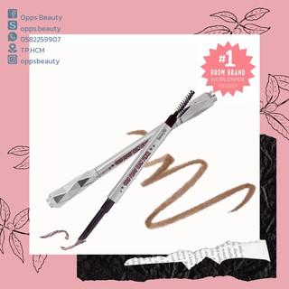 [BENEFIT] Bút chì kẻ lông mày đầu vát, kèm cọ tán BENEFIT Goof Proof Brow Pencil thumbnail