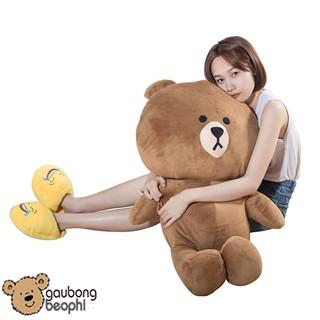 Gấu brown màu nâu nhạt