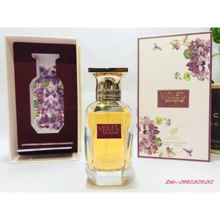 [Mẫu thử 2,5,10ml] Nước hoa Afnan Violet Bouquet (mùi Baccarat 540 MFK) thumbnail