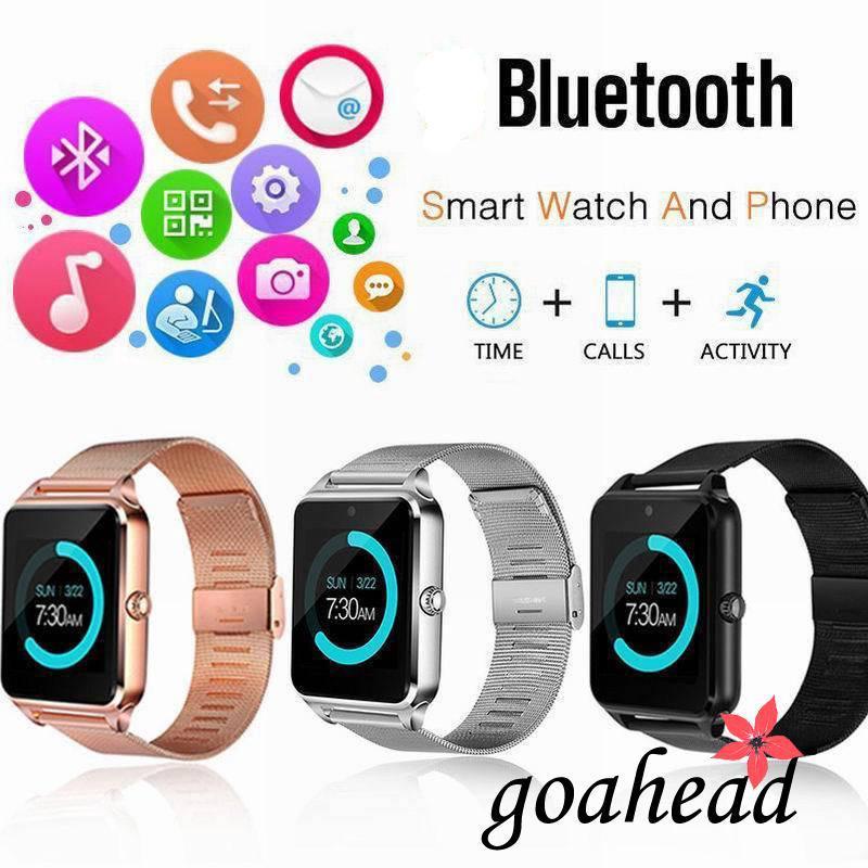 Đồng hồ đeo tay thông minh màn hình LCD , sử dụng GSM , hỗ trợ thẻ SIM