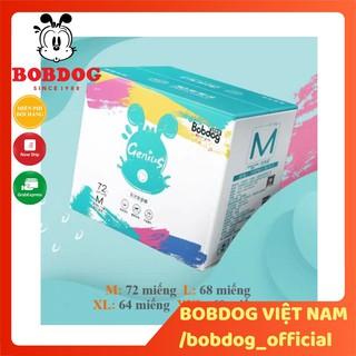 Thùng bỉm Bobdog Genius siêu cấp Bỉm quần M72 L68 XL64 XXL60 miếng thumbnail