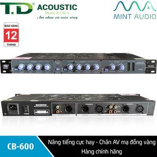 Nâng tiếng cực hay TD Acoustic CB-600 chân AV mạ đồng vàng - Hàng chính hãng