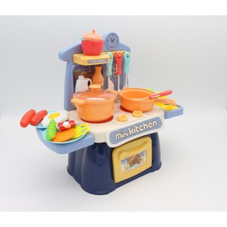 Đồ chơi nấu ăn cho bé - Bộ đồ chơi nhà bếp cho bé nấu nướng Toyshouse - đồ hướng nghiệp cho bé từ 3 tới 8 tuổi thumbnail