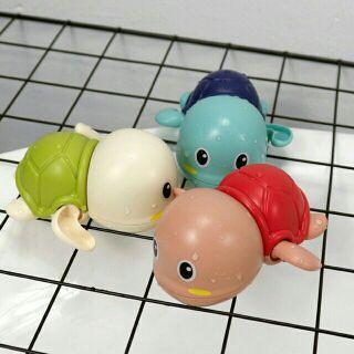 Rùa con bơi nước cho bé_ vặn chạy bằng cót