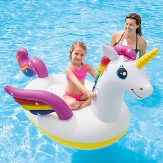 Phao bơi ngựa thần sắc màu intex 57561