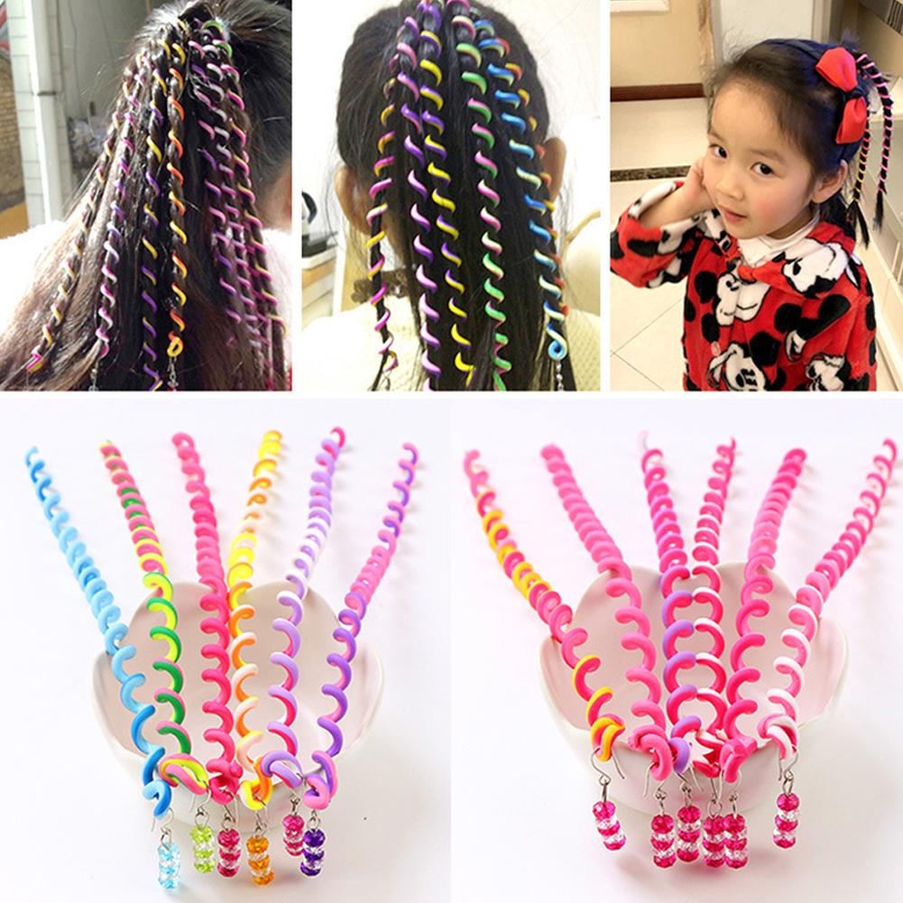1PC Plastic Long Styling Barber Salon Tool Hairdressing Spiral Hair Perm Rod Small 27cm to use