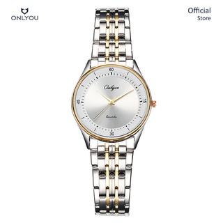 Đồng hồ Onlyou Nữ 8880LF Dây thép không gỉ 25mm thumbnail
