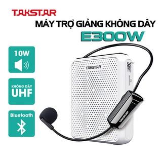 Loa trợ giảng không dây Takstar E300W, sóng UHF, có bluetooth, ghi âm, âm lượng lớn, BẢO HÀNH 1 NĂM