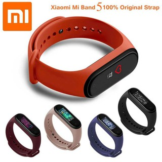 Dây silicon thay thế Miband 5