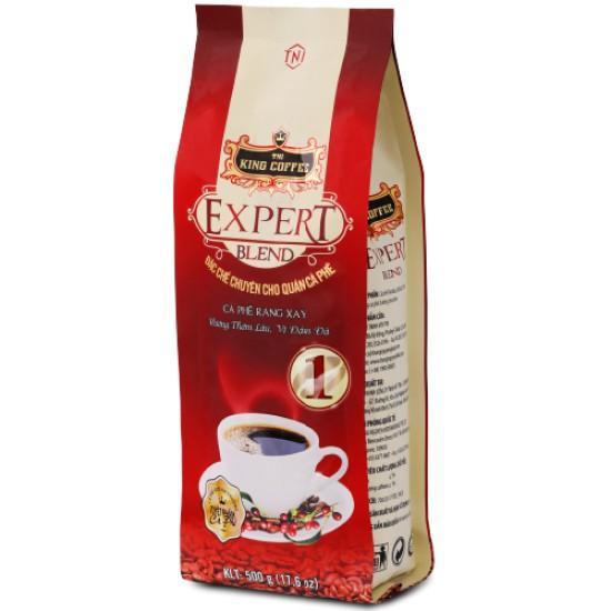 Cà Phê Rang Xay EXPERT BLEND 1 KING COFFEE Gói 500GR