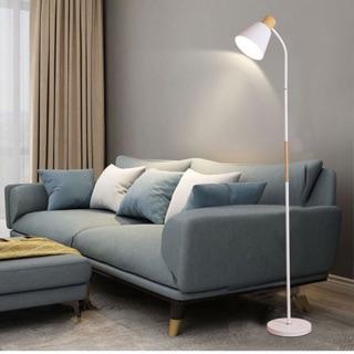 Đèn sàn phòng khách Phòng ngủ IKEA tạo không gian ấm áp kèm bóng Led chống lóa cận – Hàng nội điạ