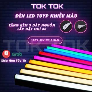 Đèn LED tuýp quay tiktok nhiều màu đèn gậy neon tok tok chuyên nghiệp siêu bền tiện lợi