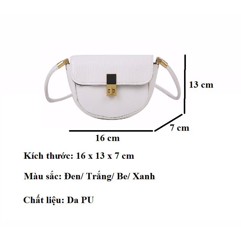 Túi xách nữ cao cấp đeo chéo đẹp giá rẻ thời trang HY136