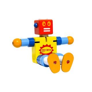 Đồ chơi gỗ Winwintoys - Cậu bé người máy 64052