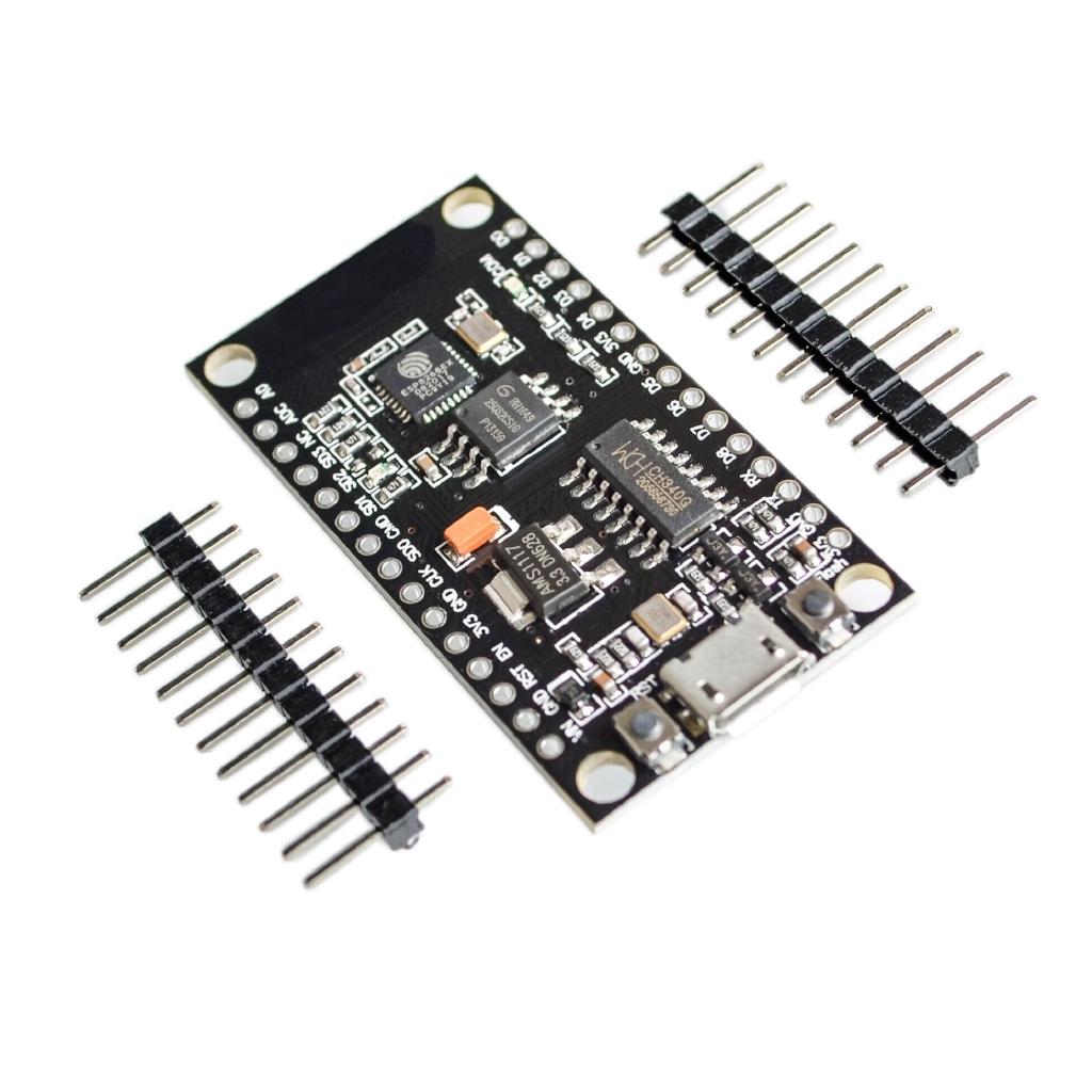 10pcs NodeMCU V3 Lua WIFI module integration of ESP8266 + extra memory 32M Flash, USB-serial CH340G