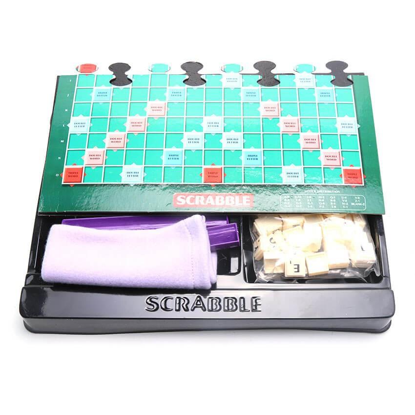 [150K Freeship] Trò Chơi Scrabble - Xếp Chữ Tiếng Anh Boardgame