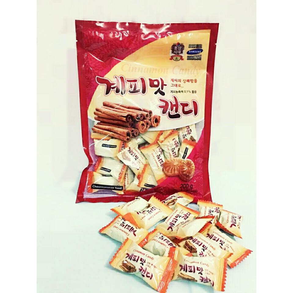 Kẹo Quế Samsung Hàn Quốc, Gói 200gr   Shopee Việt Nam