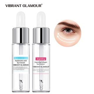 Bộ 2 sản phẩm Vibrant Glamour gồm serum chống nhăn collagen 15ml + Serum dưỡng ẩm Axit Hyaluronic 15ml cho vùng mắt thumbnail