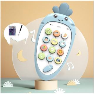 Điện thoại đồ chơi trẻ em giúp phát triển khả năng âm nhạc cho bé siêu hot