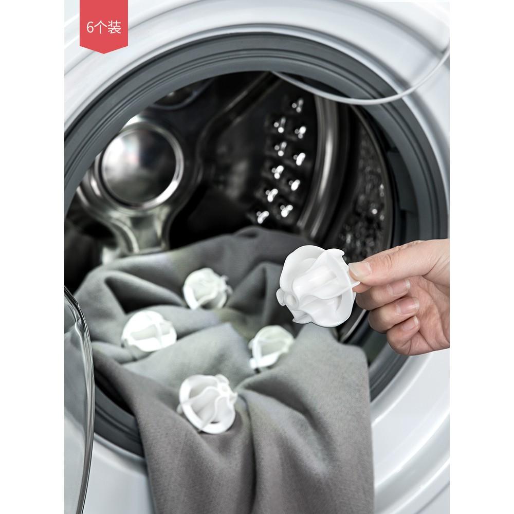 bộ 6 bóng giặt đồ tiện lợi