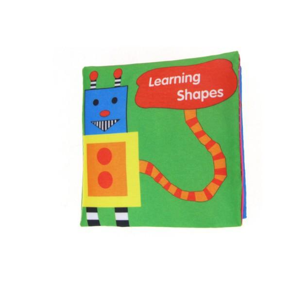 [Kid's Toy] Combo 6 quyền sách vải tiếng Anh nhiều chủ đề [Giá lẻ rẻ như giá buôn]