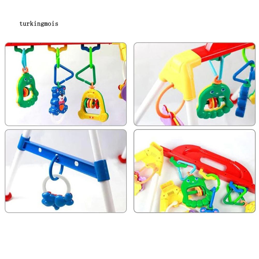 TK-Baby Gym Cross Bar Triangle Round Ring Playgym Toys Educational Kids Xmas Gift