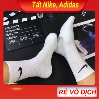 Tất Vớ Nike Adidas nam nữ thể thao cao cấp loại cổ ngắn, trung, dài. Hàng dệt kim cao cấp việt nam xuất khẩu