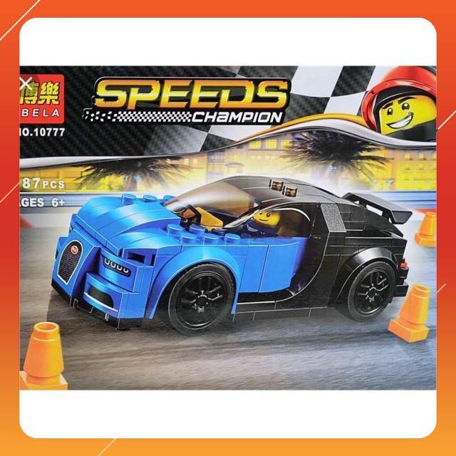 [Siêu Sock] Lego xếp hình ô tô - xe đua 10777