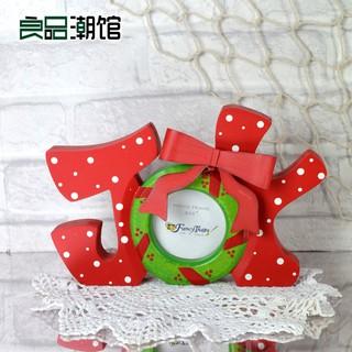 Khung Ảnh Gỗ Trang Trí Giáng Sinh