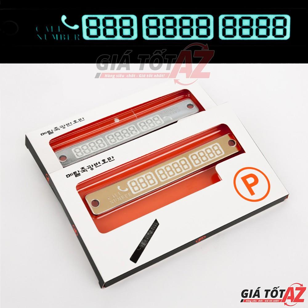 Bảng ghi số điện thoại cực đẹp và thiết yếu cho ô tô - Mẫu AZ-01