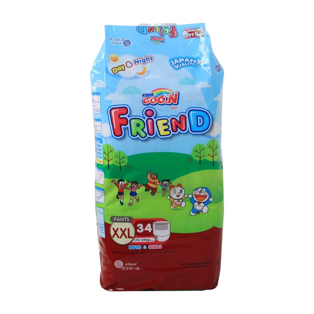 Tã quần Goon Friend XXL 34
