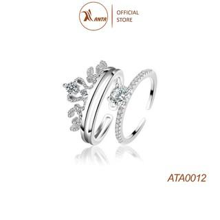 Nhẫn vương miện đính đá sang trọng ANTA Jewelry - ATA0012 thumbnail
