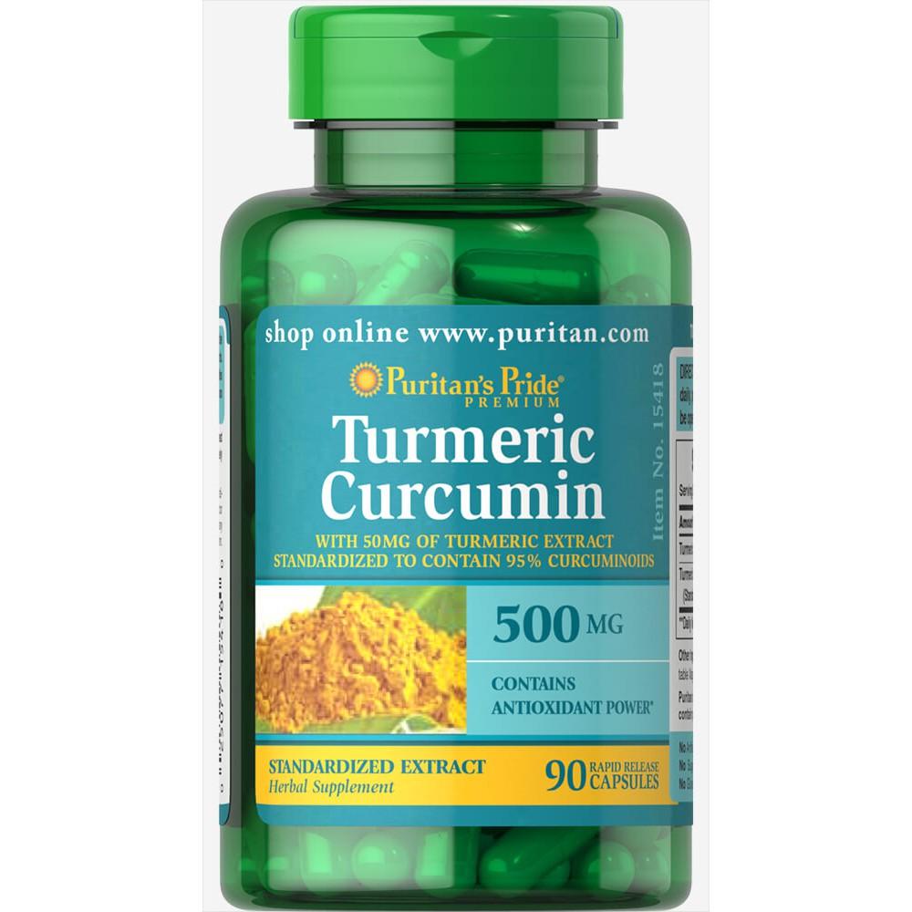 Viên uống trắng da, trị nám, điều trị đau dạ dày Turmeric Curcumin